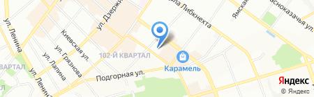 АрмаСибТрейд на карте Иркутска