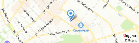 ТрансРесурс на карте Иркутска