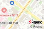 Схема проезда до компании Адвокатский кабинет Черновой О.С. в Иркутске