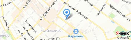 Сантехника на Партизанской на карте Иркутска