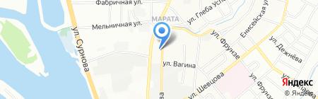 Золотое Руно на карте Иркутска