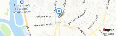 Мастерская по ремонту подвески иномарок на карте Иркутска