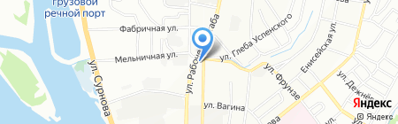 Навигатор на карте Иркутска