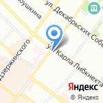 Адвокатский кабинет Черновой О.С. на карте Иркутска