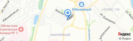 Стоматологическая поликлиника №6 на карте Иркутска