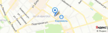 Sullen на карте Иркутска
