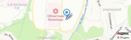 Детский сад №62 на карте Иркутска