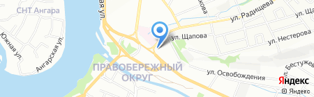 Грундфос на карте Иркутска