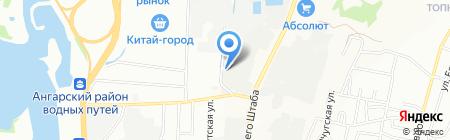Вуд Интерьер Премиум на карте Иркутска