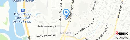 Свой Дом на карте Иркутска