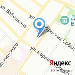 ГИБДД ГУ МВД России по Иркутской области на карте Иркутска