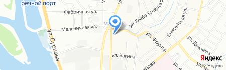 СибТекстиль на карте Иркутска