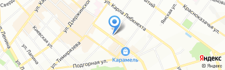 La Rouge на карте Иркутска