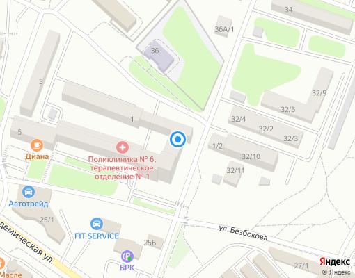 Товарищество собственников жилья «Южные сети - 3» на карте Иркутска