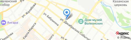 АльтерСтрой на карте Иркутска
