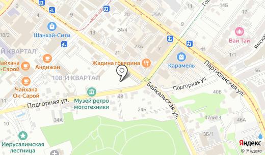 АСБЕСТ. Схема проезда в Иркутске