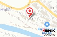Схема проезда до компании Автобезопасность в Иркутске