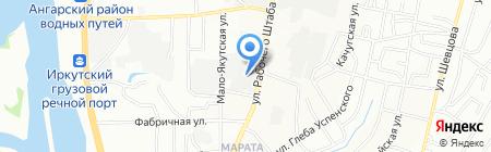Мастерская художественной ковки на карте Иркутска