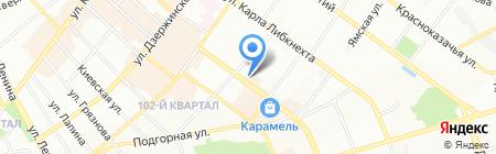 SUMMIT на карте Иркутска