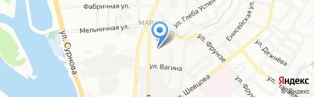 ИННОВА на карте Иркутска