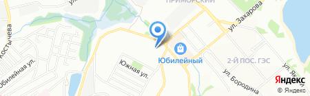 Общежитие на карте Иркутска