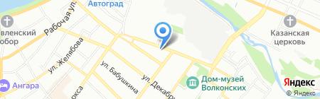 Сити-Арт на карте Иркутска