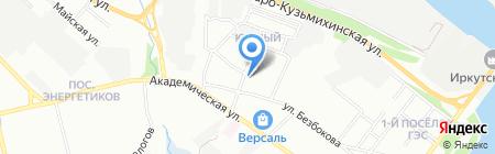 Эстел на карте Иркутска