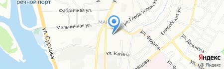 АльфаТекс на карте Иркутска
