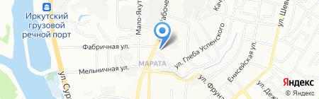 МЕБЕЛЬ ЧЕРНОЗЕМЬЯ ИРКУТСК на карте Иркутска