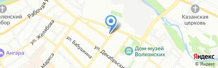 РемБытТехникс на карте Иркутска