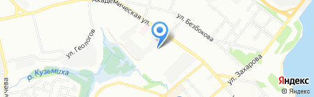 Автовыхлоп на карте Иркутска