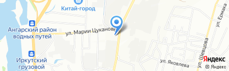 Участковый пункт полиции №12 6 отдел полиции на карте Иркутска