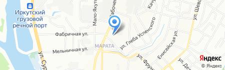 Аксиома мебели на карте Иркутска