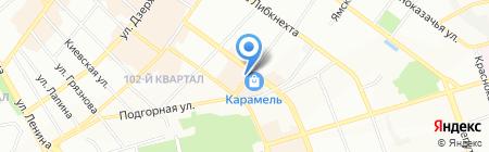 Снайпер на карте Иркутска
