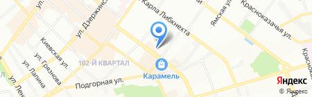 ART INEX на карте Иркутска