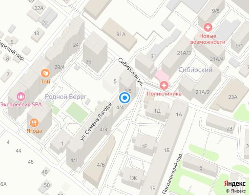 Управляющая компания «Бета» на карте Иркутска