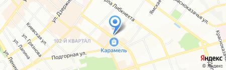 Крокет на карте Иркутска