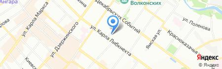 Художественная мастерская Евгения Жилина на карте Иркутска