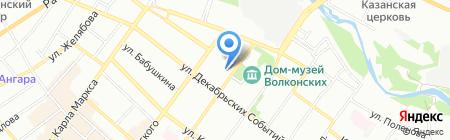 Музей Охотоведения на карте Иркутска