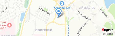 Детский сад №123 на карте Иркутска