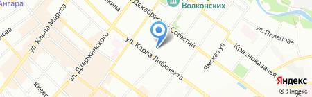 Estrella Suerte на карте Иркутска