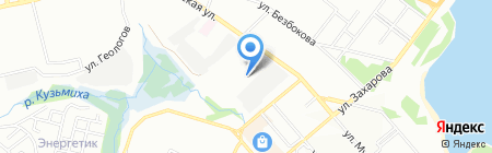 Антенна мастер на карте Иркутска