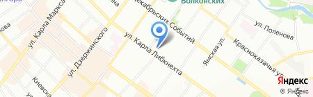 СибТаймс на карте Иркутска