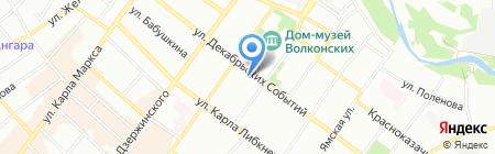ABOLENGO на карте Иркутска