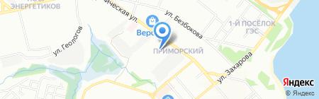 Георесурс на карте Иркутска