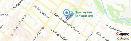 Правовед на карте Иркутска
