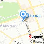 Средняя общеобразовательная школа №26 на карте Иркутска