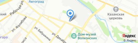 ВегаС на карте Иркутска