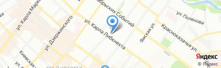 Ростелеком на карте Иркутска