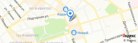 Автор на карте Иркутска